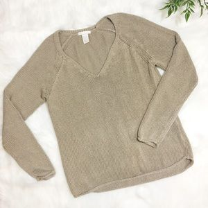 H&M Basics | Cozy Tan Sweater | S